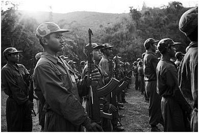 Смотр китайских военных армии Гоминьдан