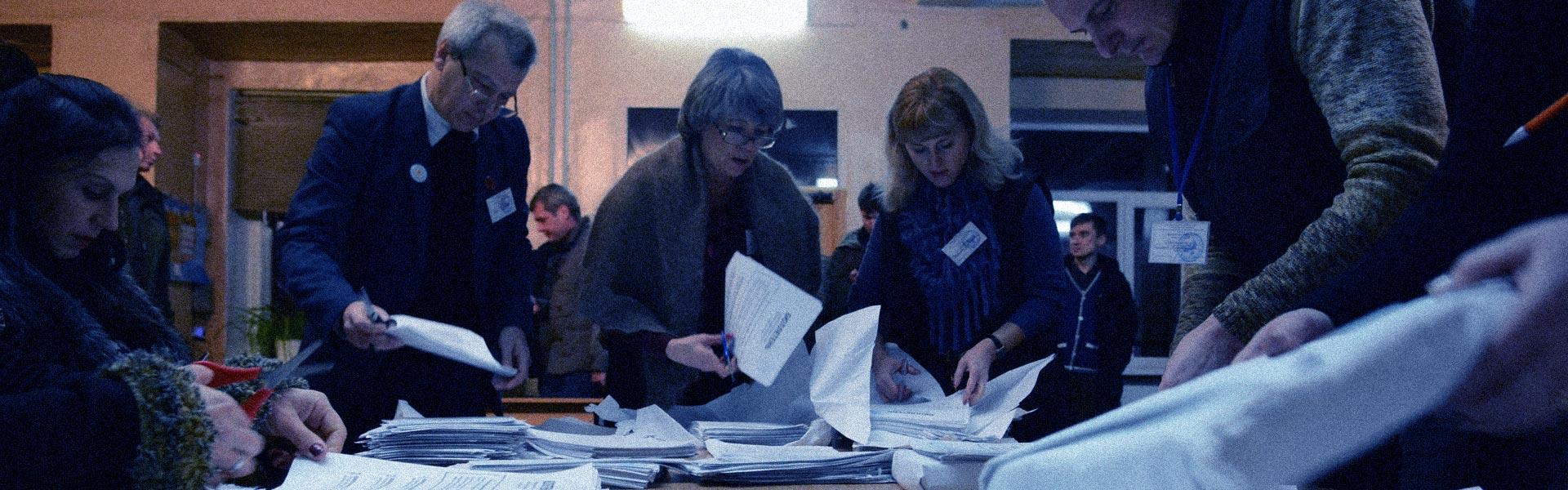 Новосибирск. Суровые выборы